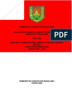 Rpjpd Kab Magelang 2005-2025