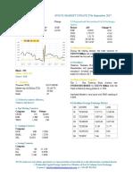 Market Update 27th September 2017