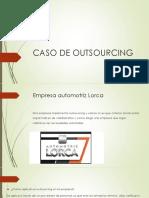 Caso de Outsourcing