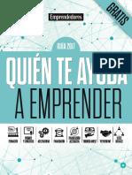 Guía Quien Te Ayuda a Emprender 2017 - Revista Emprendedores