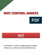 18.Riot Control Agents
