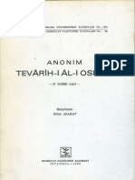 F. Giese - Anonim Tevarih-i Ali Osman