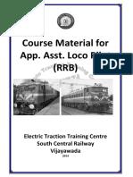 App Asst Loco Pilot