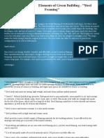 David C. Pollack Elements of Green Building Steel Framing