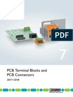 Catalog de Produse 7-Blocuri Terminale Si Conectori Pentru Cablaj Imprimat