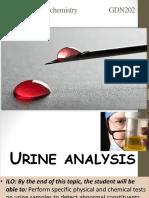 Lab 3 Chemical Examination of Urine Dentiser Marwa