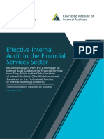 Effective Internal Audit Financial UK