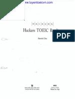 Hacker TOEIC Reading Part 1