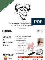 RetroMallorca 2014 - Diapositivas Conferencia GNU