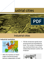 Lecture 9 Indutrial Cities
