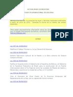InfoLeyes Bolivia - BDL Al 13-08-2010
