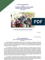 Strategic Plan of PVCHR/JMN for year 2015-2018