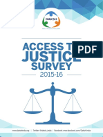 Daksh Access to Justice Survey