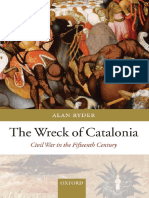 The Wreck of Catalonia Civil War in the Fifteenth Century