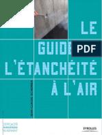 Jean-Claude Scherrer-Le Guide de l'Étanchéité à l'Air
