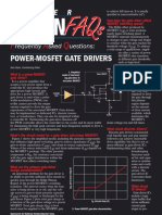 MOSFET Gate Driver