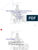 PROFESSIONAL AND TECHNICALCOMMUNICATION Lecture 2 PPT