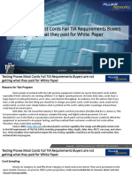 Testing Proves Most Cords Fail TIA Requirements Buyers Are Not Getting What They Paid for White Paper