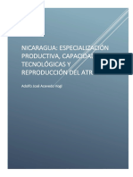 Capacidad Tecnologica, Productividad y Competitividad