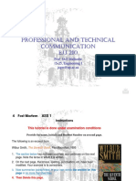 PROFESSIONAL AND TECHNICALCOMMUNICATION Lecture 3 PPT