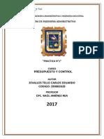 Presupuesto y Control-zevallos Tello Carlos Eduardo-practica 1