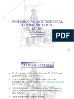 PROFESSIONAL AND TECHNICALCOMMUNICATION Lecture 1 PPT
