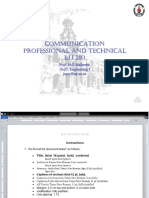 PROFESSIONAL AND TECHNICALCOMMUNICATION Lecture 4 PPT