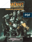 Warcraft Manual of Monsters