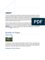 Benefits of Project