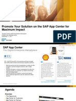 Promote Solutions on SAP App Center