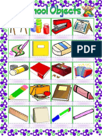 School Objects Pictionary Fun Activities Games Picture Dictionaries 45235