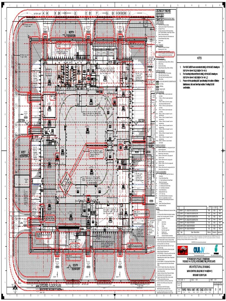 RAPID-P0014-0007-ARC-DWG-6710-1101_IFC_REV_3 | Building Engineering ...