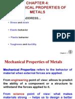 Chapter 4 Mechanical Properties of Metals