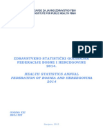 Zdravstveno Statisticki Godisnjak FBiH 2014