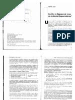 BORTONI-RICARDO 2005 Análise e Diagnose de Erros No Ensino Da Língua Materna