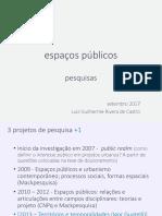 espaços públicos