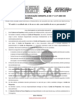 s01 v Professor Da Educacao Infantil e Do 1 a 5 Ano Do Ensino Fundamental FUNCAB