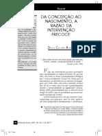 Da concepção ao nascimento, a razão da intervenção precoce.pdf