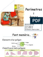 perímetros y areas
