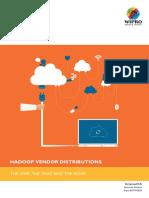 Hadoop Vendor Distributions