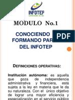 Diapositiva Conociendo INFOTEP