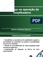 Operacao de Empilhadeira