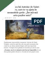 Rugăciunea Lui Antoine de Saint