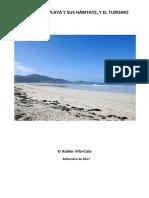 Carnota, su playa y sus hábitats, y el turismo