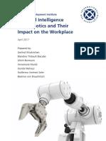 AI and Robotics IBA GEI April 2017