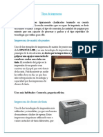 Practica No. 13 Impresoras
