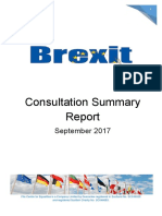 FCE Brexit Summary Report - September 2017 Scotland Fife