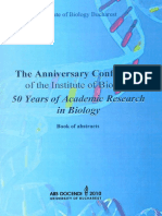 The Anniversary Conference IBB50