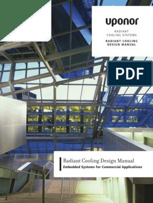 Radiant Cooling Design Manual Pdf Heat Transfer Heat