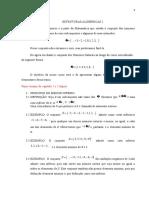 Estruturas Algébricas i